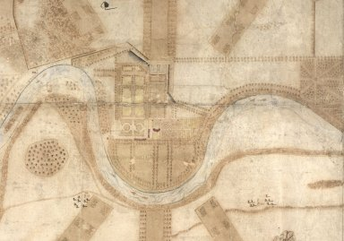 [Deatil from:] A Plan and Survey of the Gardens of Taymouth [Castle] and County Adjacent. An. 1720. [1 of 1]