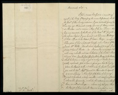 [Letter from Thomas Blackwell, Marischal College, Aberdeen, to Bishop Robert Keith, 18 November 1752] [1 of 3]
