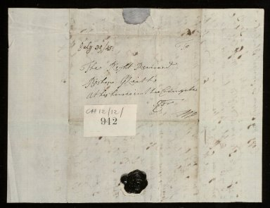 [Copy, in shorthand, of letter from Bishop Robert Keith to Robert? Blackwell, 28 November 1752] [2 of 2]