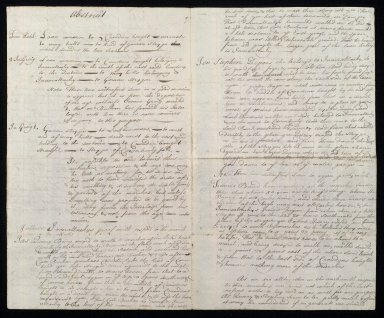 Note of the proof brought by Mr Thos Buchan in the process at his instance ag[ainst] Fraser of Inverallacky, with respect to their marches in the Links and Seatouns [2 of 2]