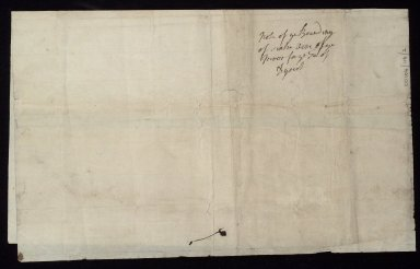 Note of the bounding of the Sixty aikers of the miur of Dysart contained in Collonell St Clairs Charter to the Town of Dysart [2 of 2]