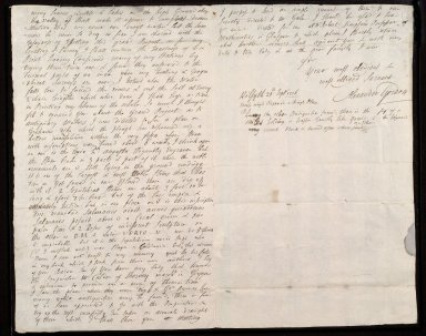 [Letter from Alexander Gordon, Kilsyth, to Sir John Clerk of Penicuik, concerning his survey of the Forth-Clyde canal] [2 of 2]