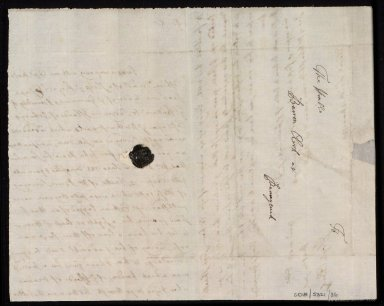 [Letter from Hugh Clerk, Citadell, Leith, to Sir John Clerk of Penicuik concerning Captain Erskine's loan of Adair's maps of Orkney from Exchequer] [2 of 2]
