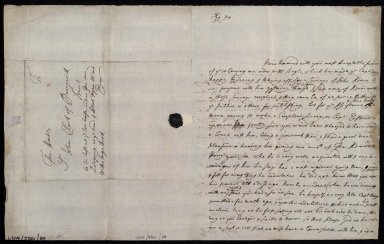[Letter from Hugh Clerk, Citadell, Leith, to Sir John Clerk of Penicuik concerning approval of loan of Adair's maps for Captain Erskine's survey] [1 of 2]