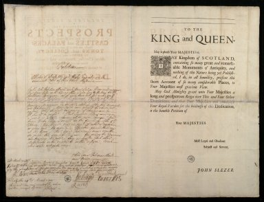 [Petition of John Slezer to the Privy Council] [2 of 2]