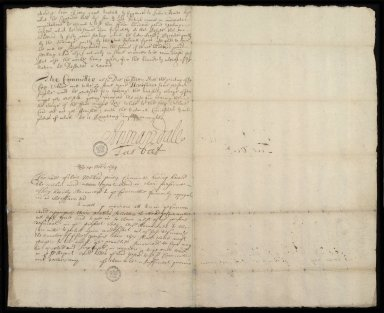 Report of the Committie of the privie Councill Anent John Adair [...] 15 Novemb: 1694. [2 of 2]