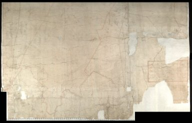 A Map of Grinley Moore And Pollwart Moore Belonging to The Right Honorable the Earle of Marchmont [2 of 2]