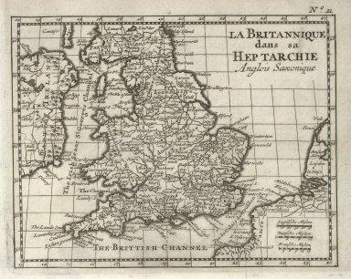 La Britannique dans sa Heptarchie Anglois Saxonique [1 of 1]