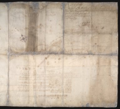 Plan of that part of the Waters of Dee and Cluny and of the grounds on both sides, anent which Invercald and Auchyndryn are disputing [3 of 3]