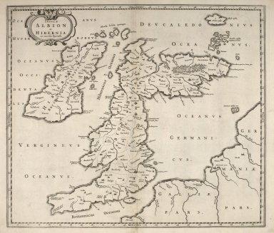 Insulae Albion et Hibernia cum minoribus adjacentibus. [1 of 1]