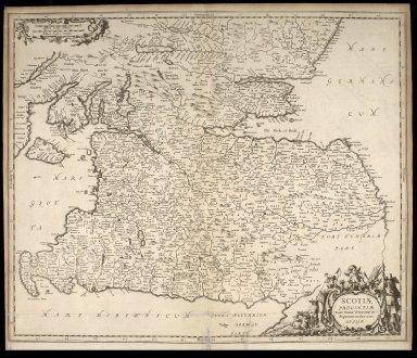 Scotiae provinciae inter Taum Fluvium, et Septentrionales oras Angliae. [1 of 1]