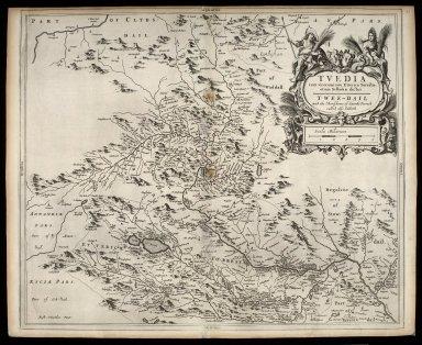 Tvedia cum vicecomitatu Etterico Forestae, etiam Selkirkae dictus, Twee-dail with the Sherifdome of Ettrik-Forrest [sic] called also Selkirk [1 of 1]