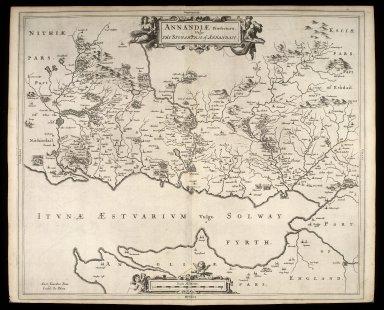 Annandiae praefectura, Vulgo, The Stewartrie of Annandail [1 of 1]
