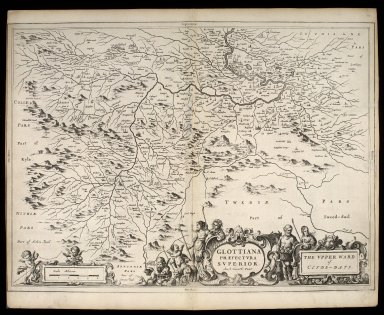 Glottiana Praefectura Superior, [vulgo] The Upper Ward of Clyds-dayl [1 of 1]
