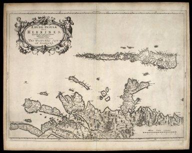 Aebudae Insulae sive Hebrides ; quae Scotiae ad occasum praetenduntur [1 of 1]