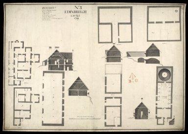 Edinburgh Castle, No. 3, 1719 [1 of 1]