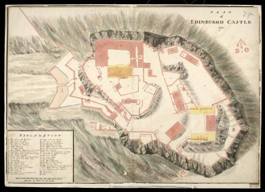Plan of Edinburgh Castle,1750 [1 of 1]