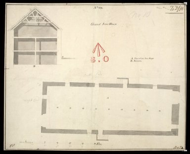 Grand Storehouse; No.VII; [Edinburgh Castle, 1719] [1 of 1]