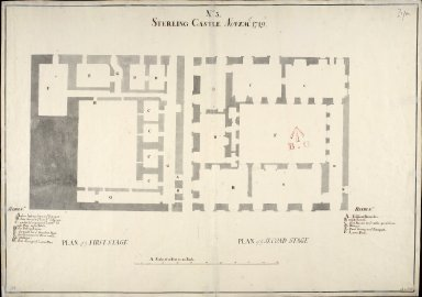 Sterling [i.e. Stirling] Castle, Novemr 1719, No. 3 [1 of 1]