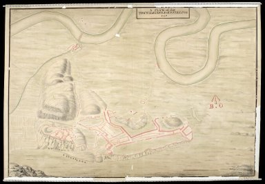A Plan of the town and castle of Stirling 1740. [1 of 1]