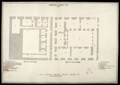 Sterling [i.e. Stirling] Castle, No. 3, 1741 [copied from 1719 plan] [1 of 1]