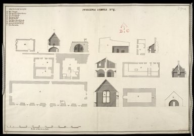 Sterling [i.e. Stirling] Castle, No. 4 [1741] [copied from 1719 plan] [1 of 1]
