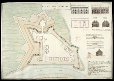Plan of Fort William 1745 [1 of 1]