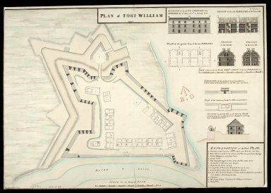 Plan of Fort William 1745 [copy] [1 of 1]