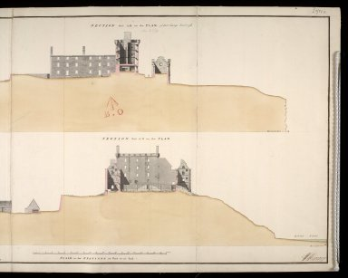Fort George at Inverness [1750] [2 of 2]