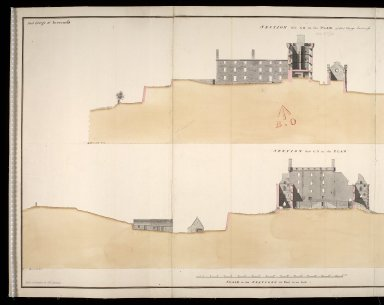 Fort George at Inverness [1750] [1 of 2]