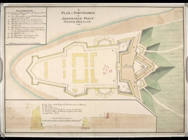 A Plan of Fort George on Arderseer [i.e. Ardersier] Point North Britain 1749 [copy] [1 of 1]