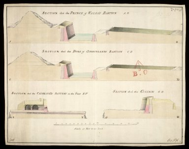 [A Plan of Fort George 30 Sepr. 1756] [1 of 1]