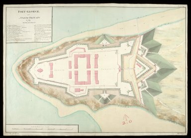 Fort George in North Britain 1769 [1 of 1]