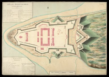 A Plan of Fort George North Britain [1769] [1 of 1]