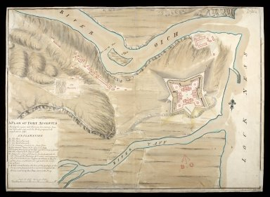 A Plan of Fort Augustus [copy] : shewing the repairs and aditions done between Iune and September 1747, with the works proposed to be compleated in 1748 [1 of 1]