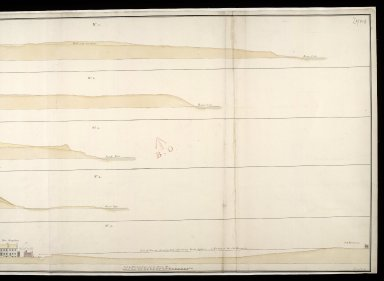 [Sections of Fort Augustus, 1747] : No.1, No.2, No.3, No.4 and No.5 [2 of 2]