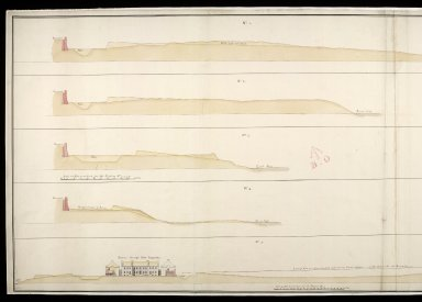[Sections of Fort Augustus, 1747] : No.1, No.2, No.3, No.4 and No.5 [1 of 2]