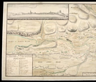 A General survey of Inverness & the country adjacent to the foot of Loch-Ness [copy] [1 of 2]
