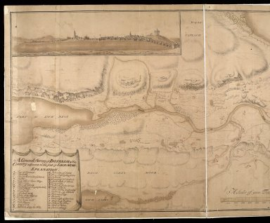 A Generall survey of Inverness & the country adjacent to the foot of Loch-Ness [copy] [1 of 2]