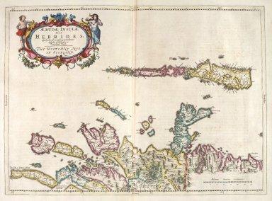 Aebudae Insulae Sive Hebrides; Quae Scotiae ad occasum praetenduntur, lustratae et descriptae a Timotheo Pont. The Western Isles of Scotland. [1 of 1]