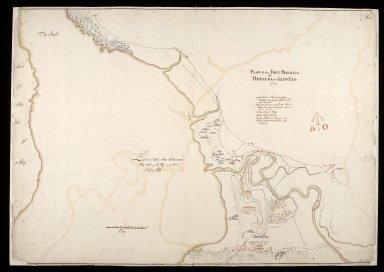 Plan of the fort barrack of Bernera in Glen Elg 1719 [1 of 1]