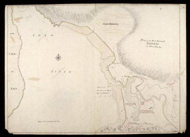 Plan of the fort barrack Bernera in Glen Elg [1719] [copy] [1 of 1]