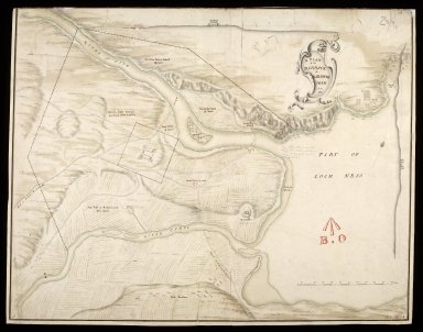 A Plan of the barrack at Killewhiman [i.e. Kiliwhimen] anno 1719 [1 of 1]