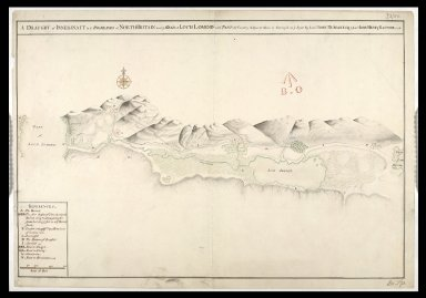 A Draught of Innersnait [i.e. Inversnaid] in ye Highlands of North-Britain near ye head of Loch Lomend [i.e. Lomond] : with part of ye country adjacent [copy] [1 of 1]