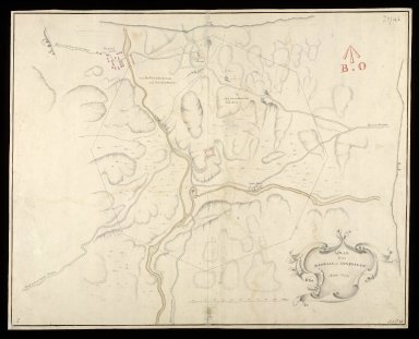 A Plan of the barrack at Inversnait [i.e. Inversnaid] anno 1719 [copy] [1 of 1]