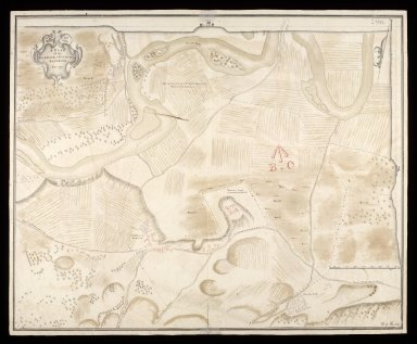A Plan of the barrack at Ruthven in Badenoch anno 1719 [1 of 1]