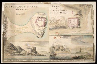 Plan of Castle Tyrim [i.e. Tioram] in Muydart [i.e. Moidart] : plan of Castle Duirt [i.e. Duart] in the Island of Mull 1748 [copy] [1 of 1]