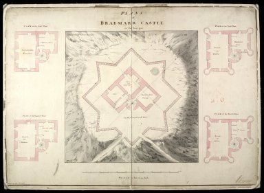 Plans of Brae-Marr [i.e. Braemar] Castle in the year 1750 [1 of 1]