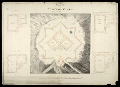 Plans of Brae-Marr [i.e. Braemar] Castle in the year 1750 [copy] [1 of 1]