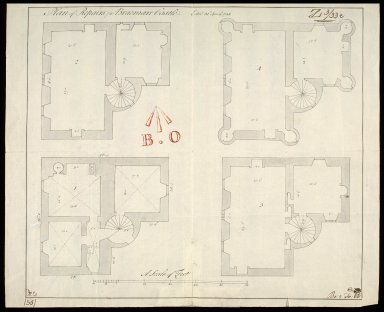 Plan of Repairs for Braemarr [i.e. Braemar] Castle [1 of 1]